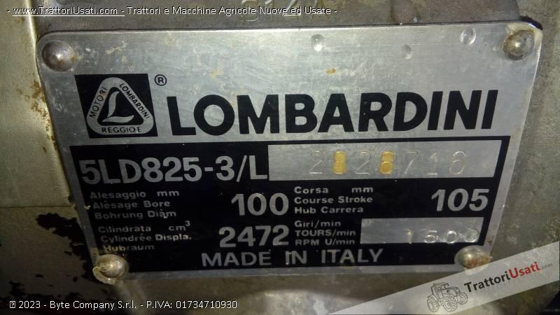 Generatore corrente lombardini 5ld825 3 l for Generatore di corrente diesel usato