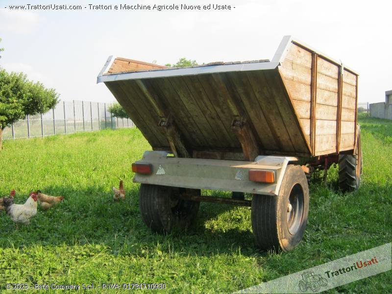 Rimorchio agricolo ts 80 gregorio for Rimorchio agricolo piemonte