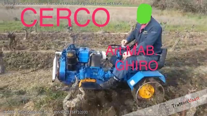 Cerco motozappa  - ghiro mab 0