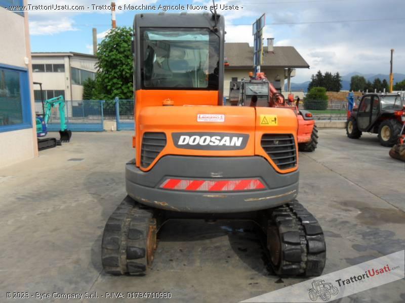 Escavatore  - dx60 doosan 3