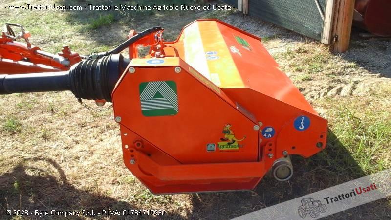 Trincia argini  - fl 160 super agrimaster 4