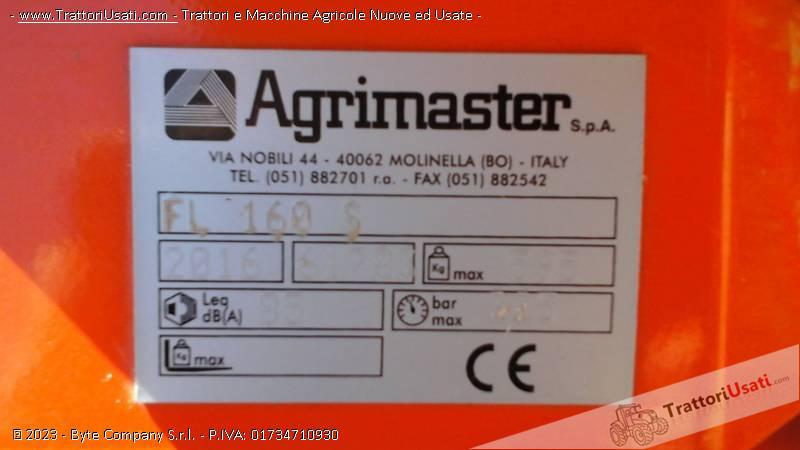 Trincia argini  - fl 160 super agrimaster 5