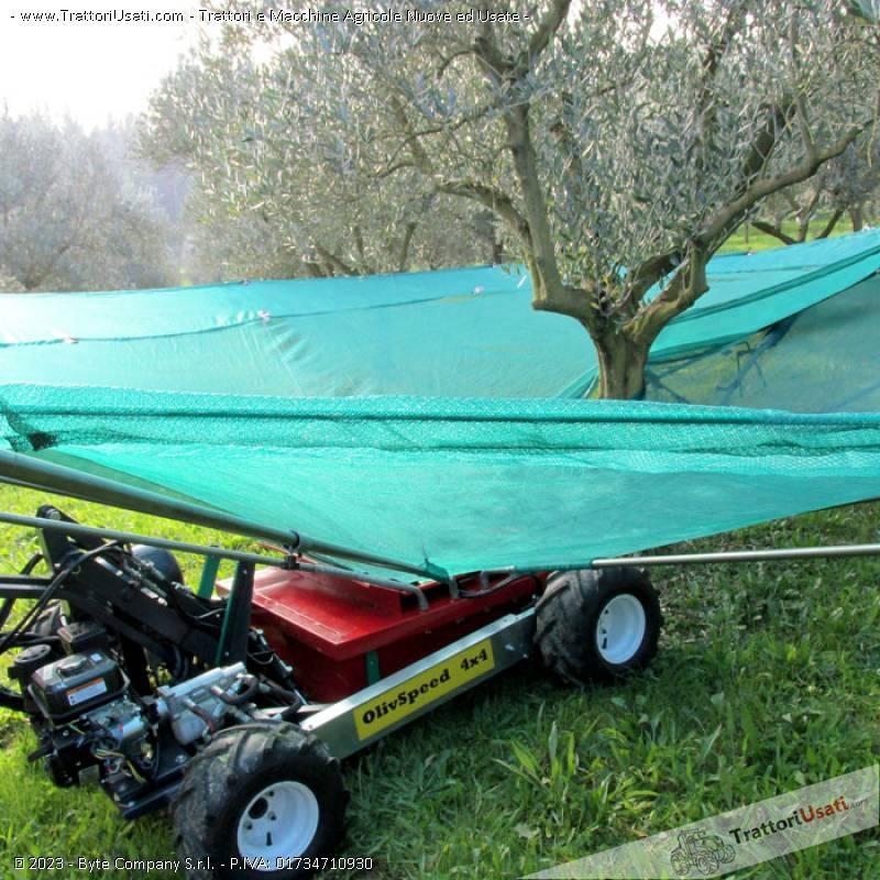 Intercettatore per olive  - olivspeed 4x4 bosco 1
