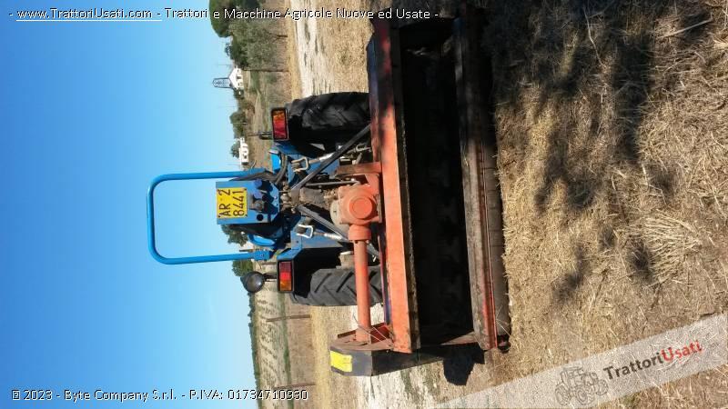 Trattore vigneto bcs - system 26 rs con trincia 1