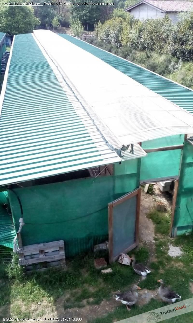 Capannone-tettoia  - in ferro smontabile 0