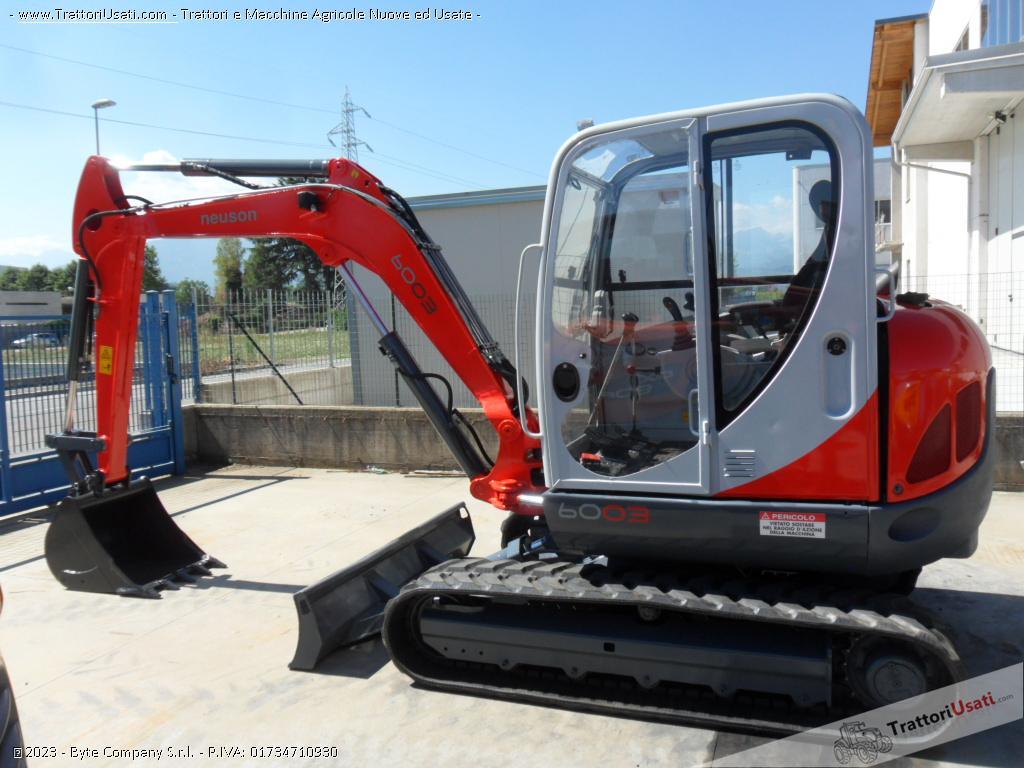 Escavatore  - 6003 neuson 2