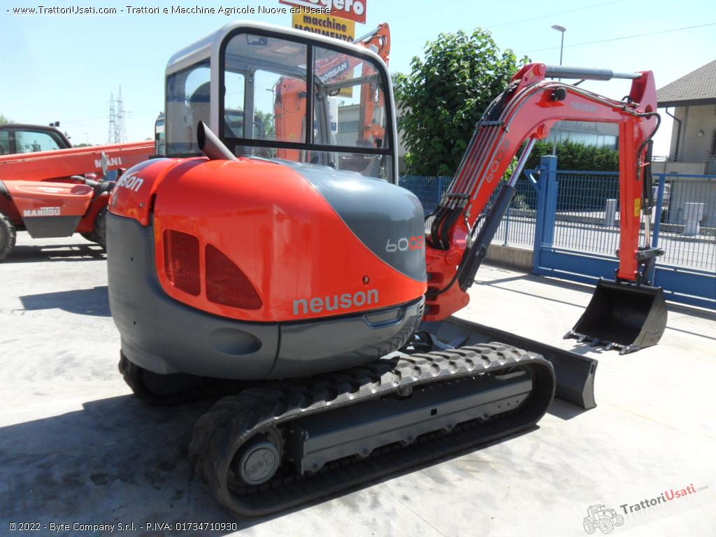 Escavatore  - 6003 neuson 4
