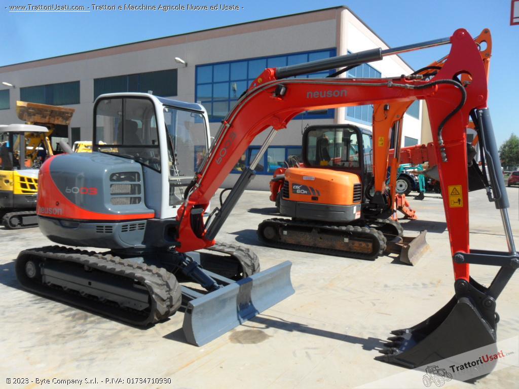 Escavatore  - 6003 neuson 5