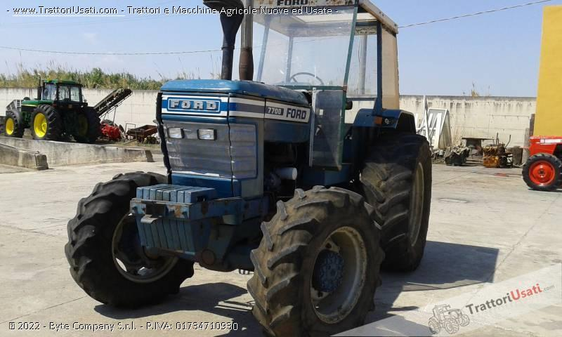 Trattore ford - 7700 0