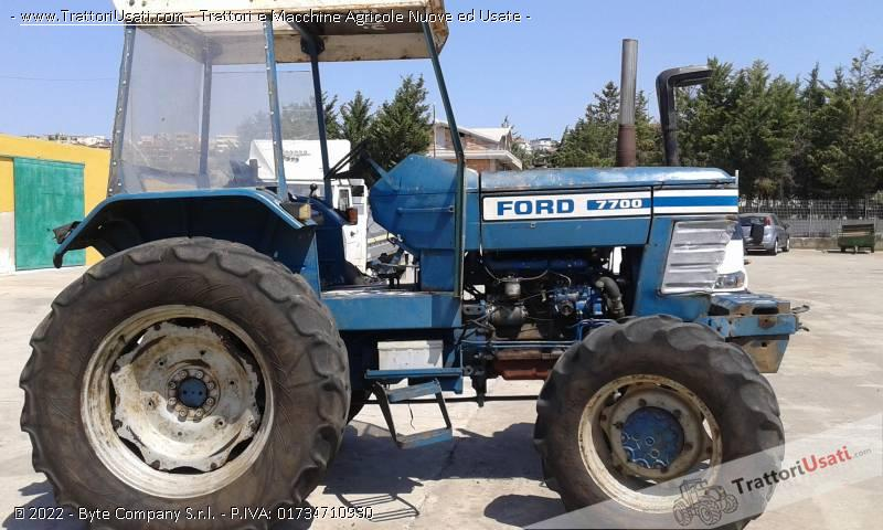 Trattore ford - 7700 2