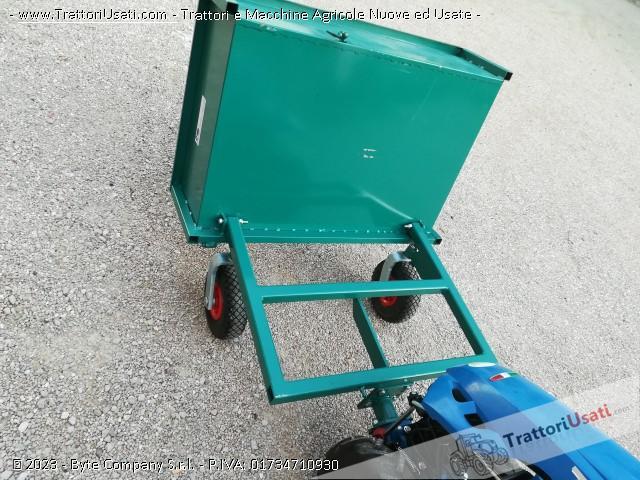 Carrellino per motocoltivatore  - cm p1 1