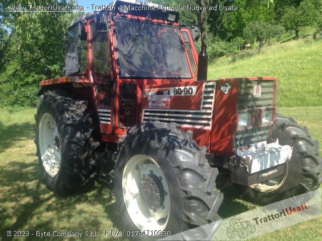 Trattore fiat - 80/90 dt 3