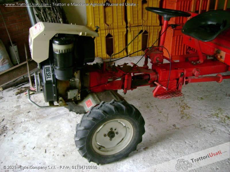 Motozappa  - 12 cv diesel durso 0