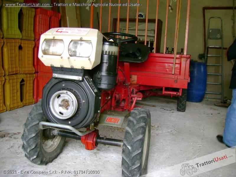 Motozappa  - 12 cv diesel durso 1
