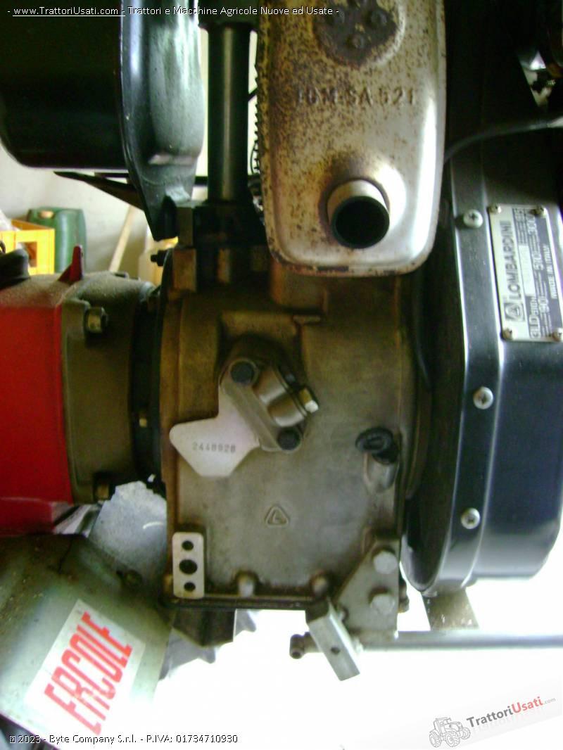 Motozappa  - 12 cv diesel durso 4