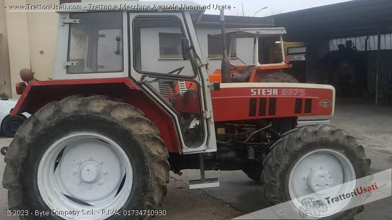 Trattore steyr - 8075 0