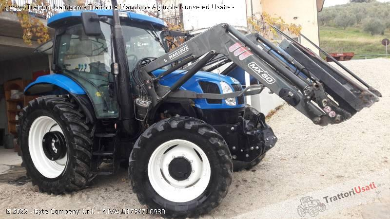 Trattore new holland - ts 100 a plus 0