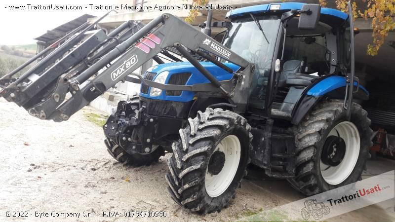 Trattore new holland - ts 100 a plus 2