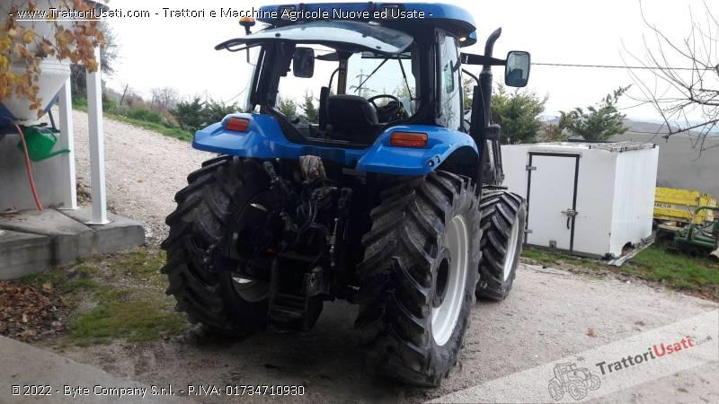 Trattore new holland - ts 100 a plus 3