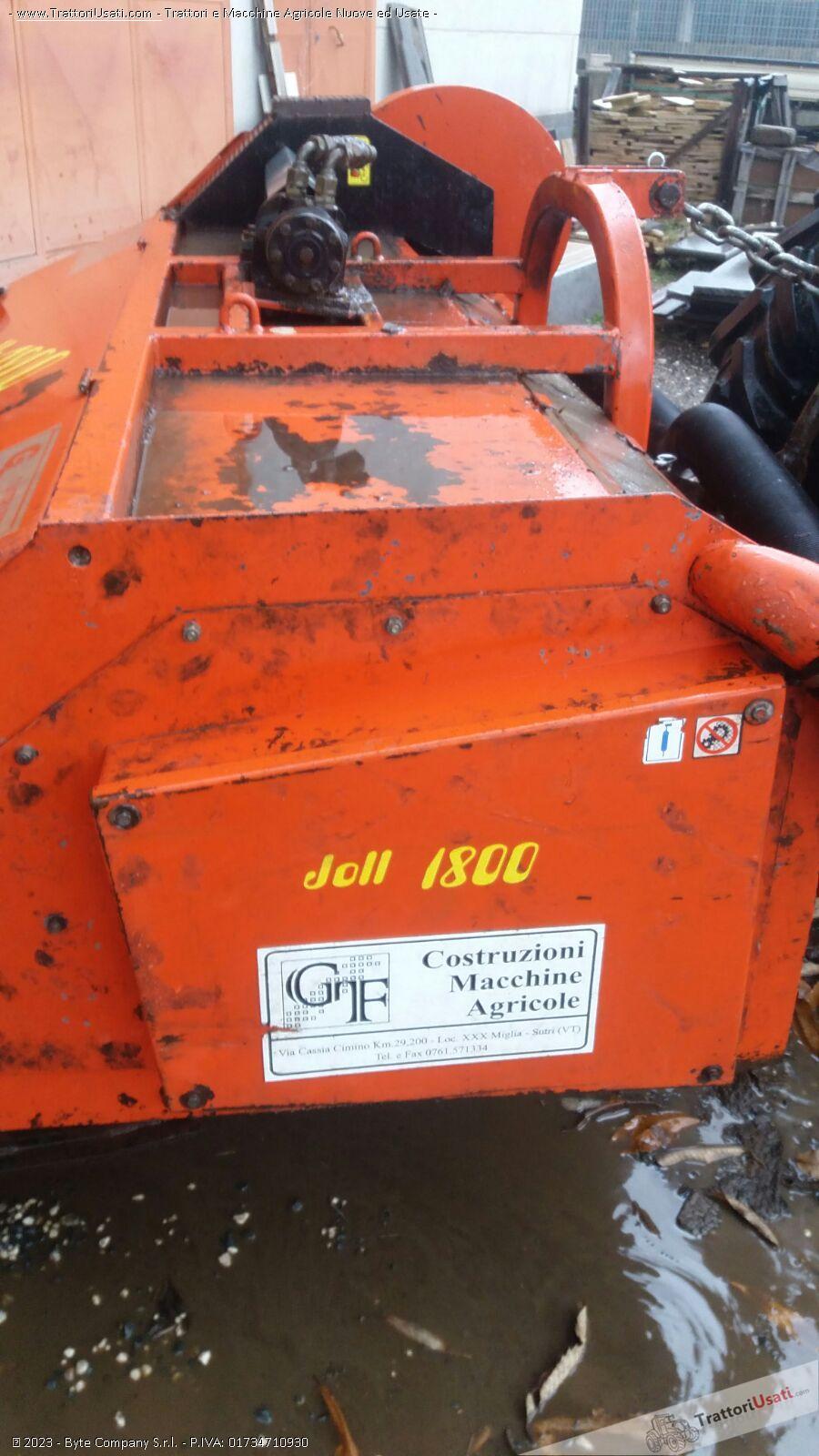 Macchina raccogli nocciole  - jolly 1800 1