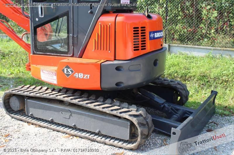 Mini escavatore  - eurocomach es400zt 2