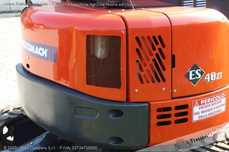 Mini escavatore  - eurocomach es400zt 4