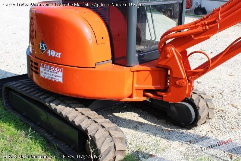 Mini escavatore  - eurocomach es400zt 5
