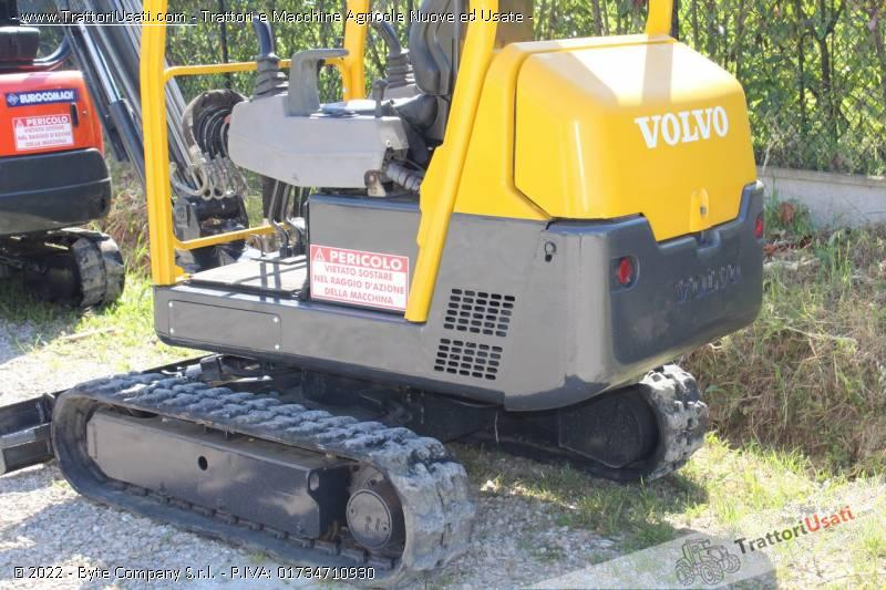 Mini escavatore volvo - ec15 usato 2