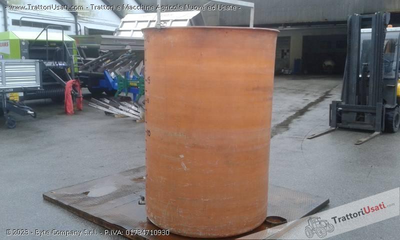 Cisterna  - semprepieno in vetroresina lt 2000 1