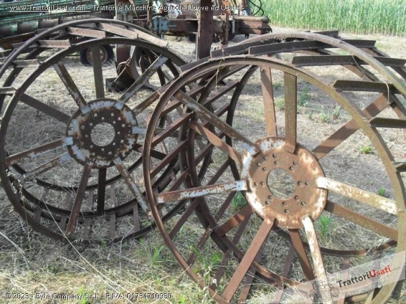 Coppia ruote fiat - a gabbia 0
