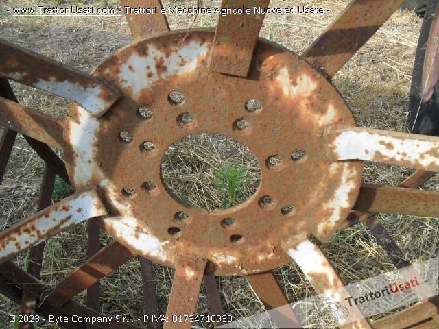Coppia ruote fiat - a gabbia 1