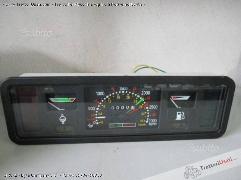 Quadro strumenti fiat - 89/90 serie 66-66-90 4