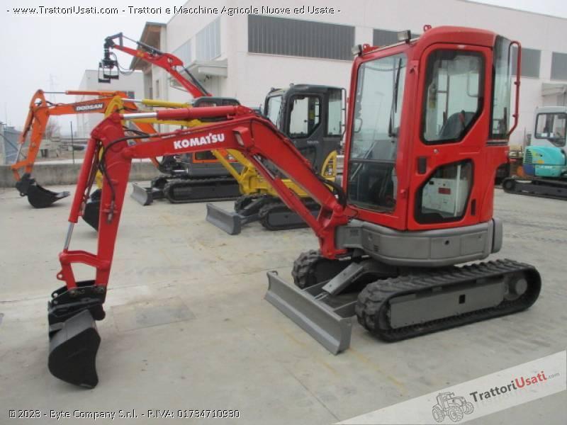 Escavatore  - pc20 mr2 komatsu 0