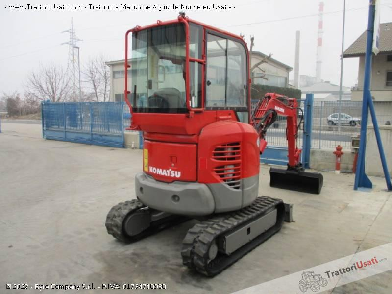 Escavatore  - pc20 mr2 komatsu 3