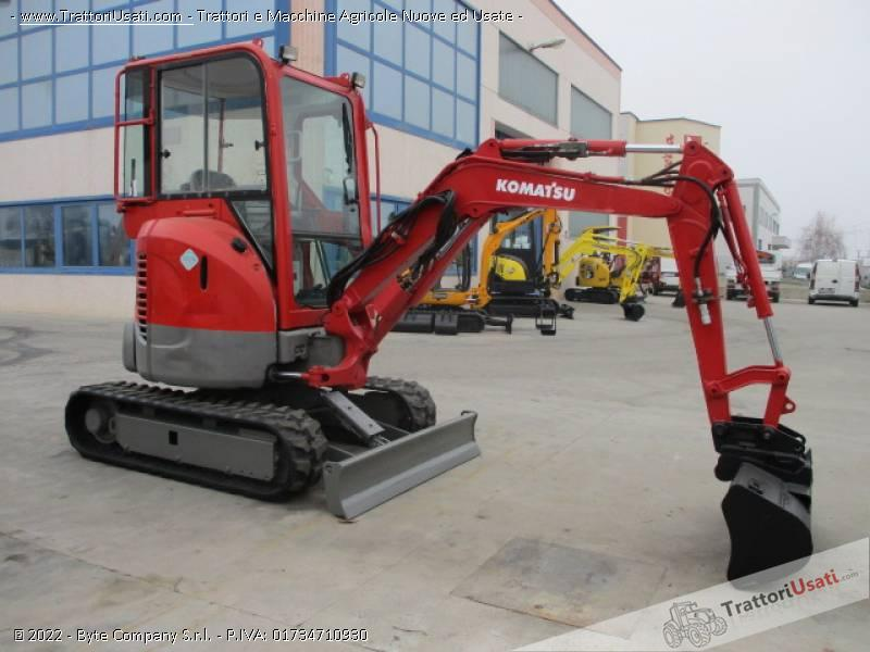 Escavatore  - pc20 mr2 komatsu 5