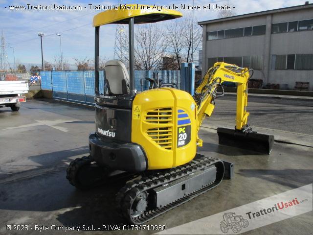 Escavatore  - pc20 mr2 komatsu 2