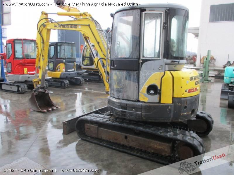 Escavatore new holland - e50.2 sr 1