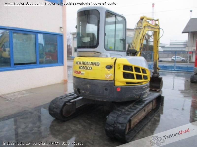 Escavatore new holland - e50.2 sr 2