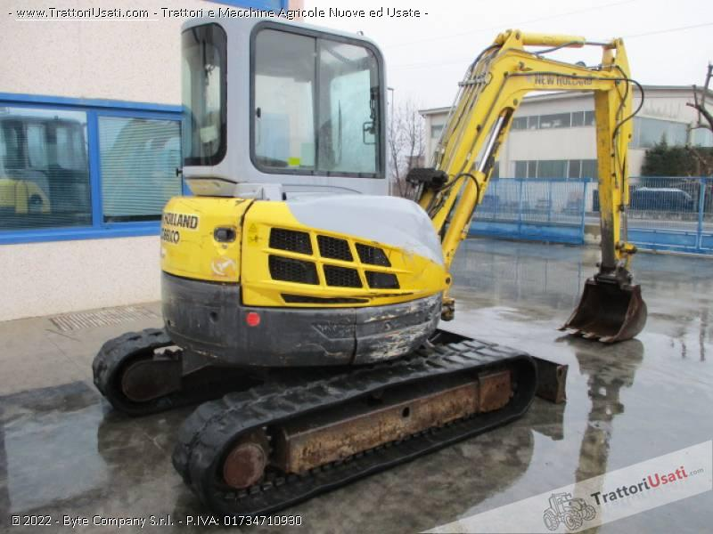 Escavatore new holland - e50.2 sr 3