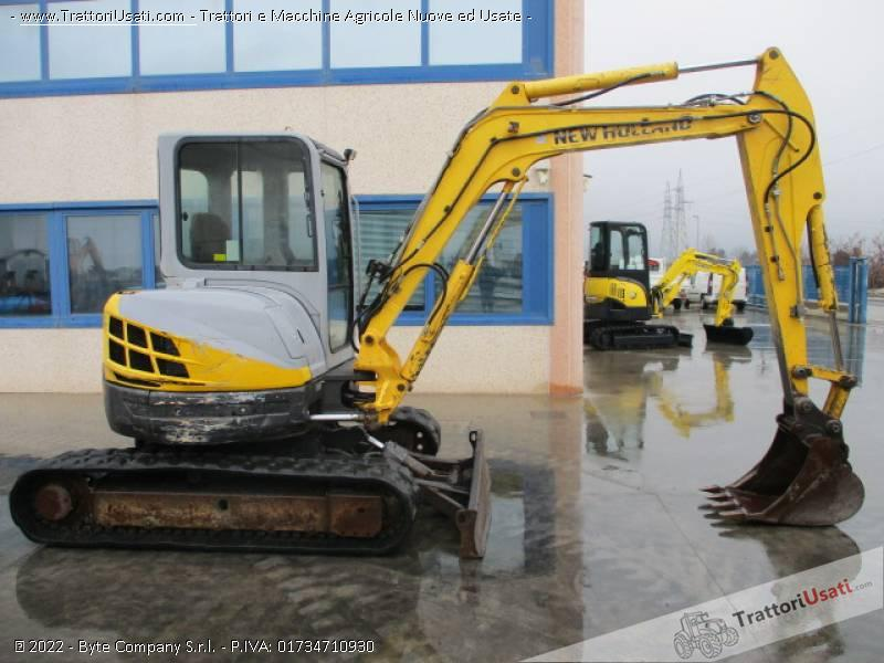 Escavatore new holland - e50.2 sr 4