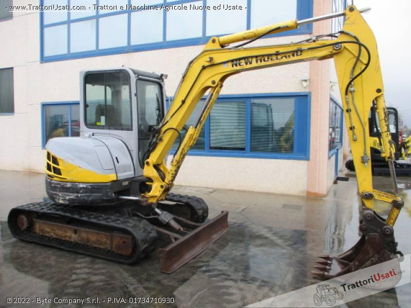 Escavatore new holland - e50.2 sr 5