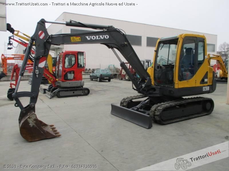 Escavatore volvo - ec55 b 0