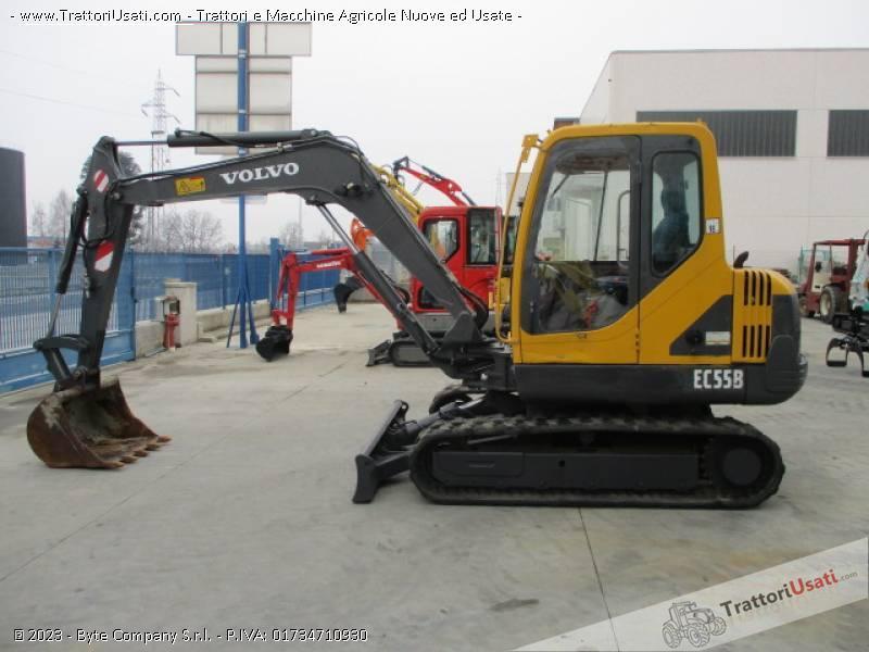 Escavatore volvo - ec55 b 1