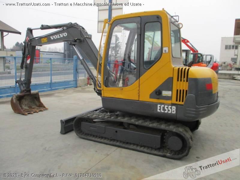 Escavatore volvo - ec55 b 2