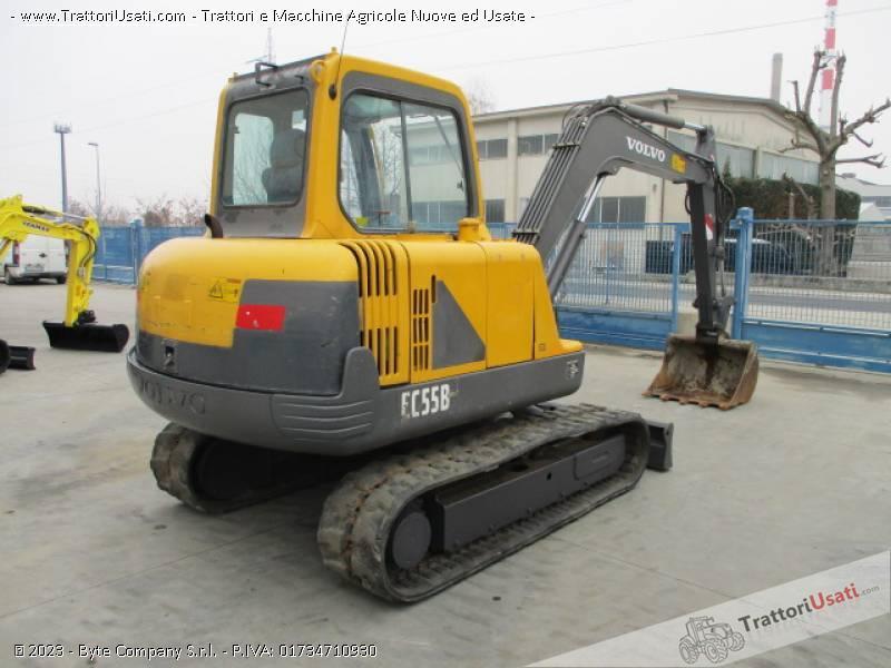 Escavatore volvo - ec55 b 3