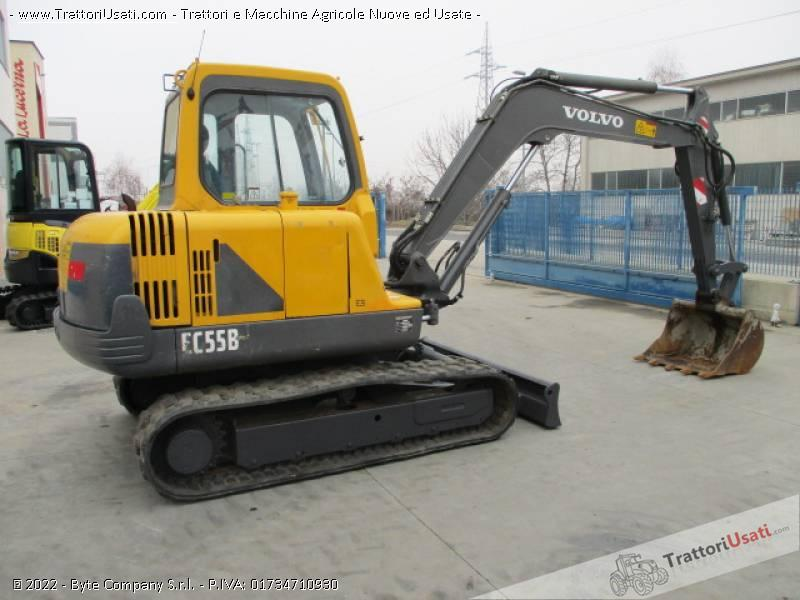 Escavatore volvo - ec55 b 4