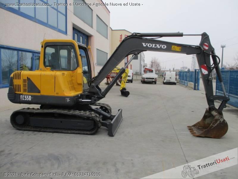Escavatore volvo - ec55 b 5