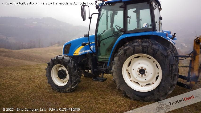 Trattore new holland - t 5030 0