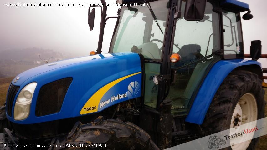 Trattore new holland - t 5030 1