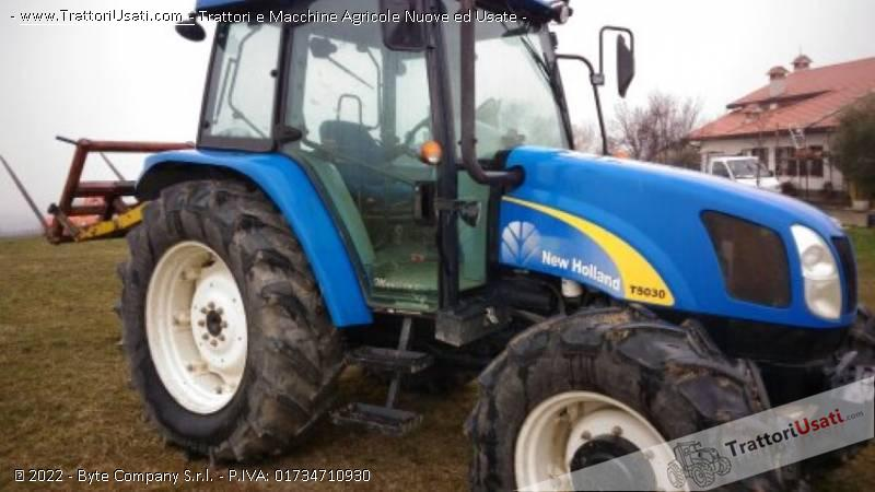 Trattore new holland - t 5030 3